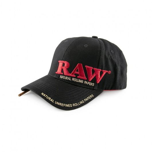 RAW Poker Hat - Black 7297c50c9f19